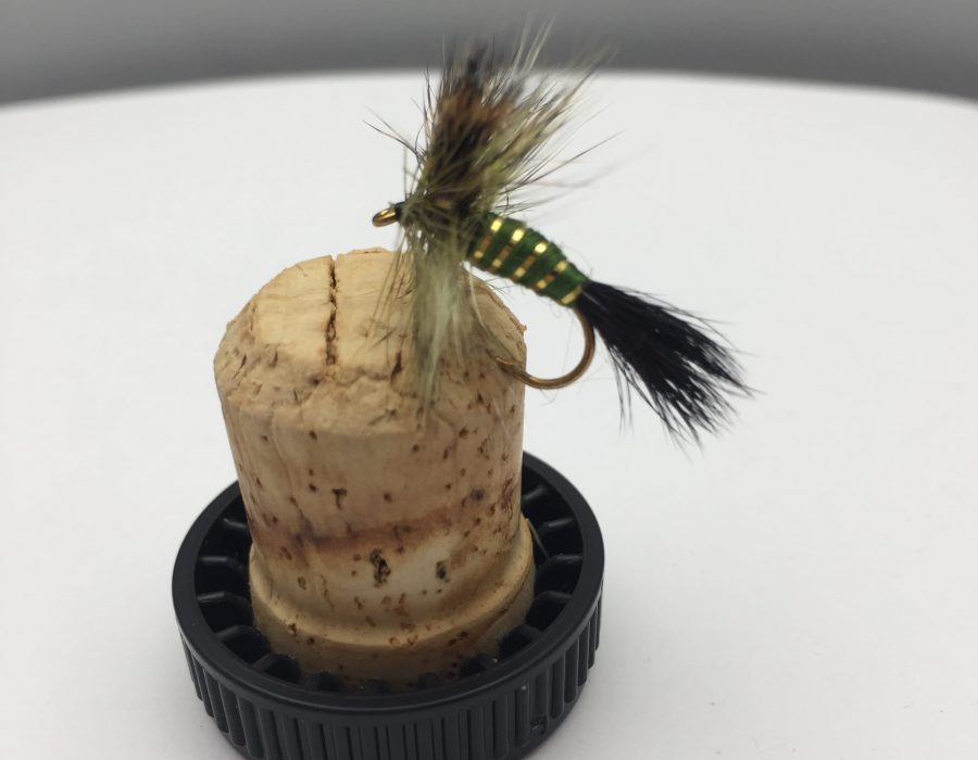 May Fly Size 10 Fly Fishing PRIME collection Spent Black Drake MAYFLY 8 PACK