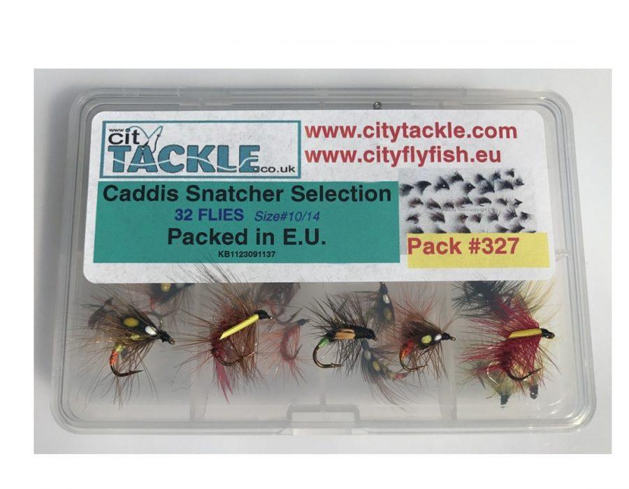 Fly Fishing 32 Epoxy Buzzers FREE FLY BOX Size 10-14 Trout Flies  #342
