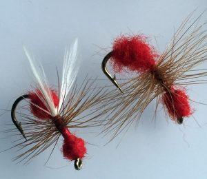 BestCity Fishing Flies Season Select Daddies Daddy Longlegs Trout Fly UK 24 Flies Mixed