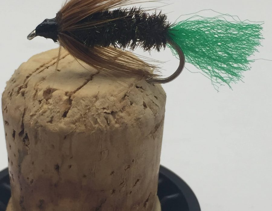 Fly Fishing PRIME collection SHIPMANS BUZZER BLACK trout fishing 8 pack