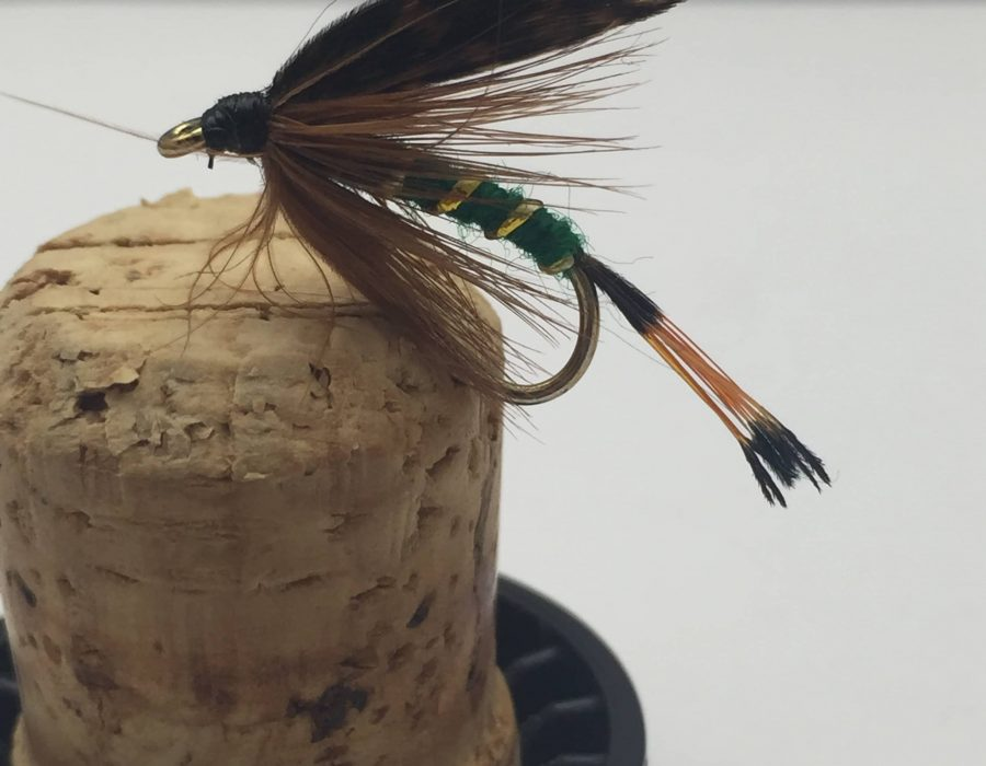 Fly Fishing PRIME collection TEAL /& BLUE SILVER Wet Flies Size 12 pack of 12